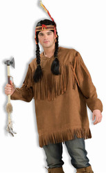 Native American shirt adult mens Halloween costume
