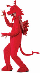 adult Red Dragon mens Halloween Costume STD