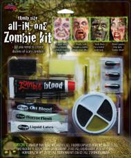 All in one Zombie Kit FX Prosthetic Makeup Kit