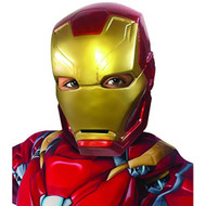 kids Captain America Civil War Iron Man kids boys 1/2 Mask costume accessory