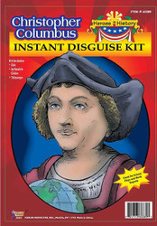 CHRISTOPHER COLUMBUS telescope globe boys historical school halloween costume