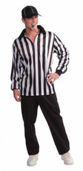 REFEREE shirt hat sports mens soccer football game halloween costume 42