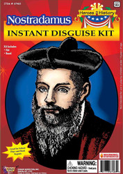 Nostradamus Disguise Kit Child One Size