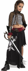Drama Pirate Girl Punk Goth Costume