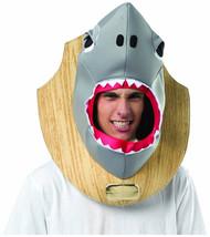 Shark Head Trophy Mens Costume One Size