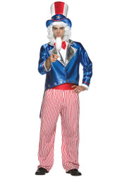 Uncle Sam Mens Halloween Costume