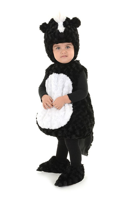 Skunk Animal Lil Stinker Kids Toddler Plush Halloween Costume  sc 1 st  CostumeVille & Skunk Animal Lil Stinker Kids Toddler Plush Halloween Costume ...