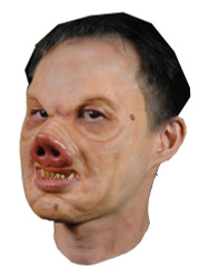 Pervis Pig Foam Latex Mask Prosthetic Professional Grade