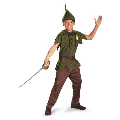 peter pan robin hood neverland disney boys child halloween costume toddler 3t 4t - Halloween Costumes 4t
