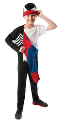 2 in 1 Reversible Boys Kids Spider-Man Costume