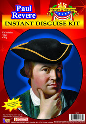 Heros in History Paul Revere American Revolution kids boys Halloween costume