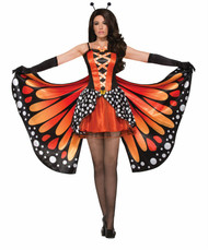 Miss Monarch Butterfly adult womens Halloween costume Standard size
