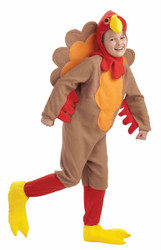 Child Fleece Turkey kids boys girls Thanksgiving costume