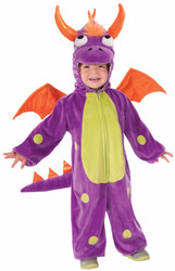 Purple Monster kids boys toddler Halloween costume