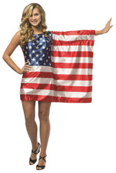 Flag Dress USA Teen