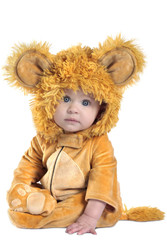 Leo the Lion Newborn Costume by Anne Geddes 0-6M