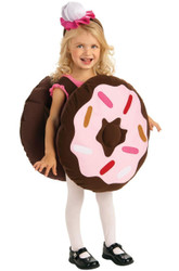 DOUGHNUT donut girls boys kids chocolate dunk halloween costume