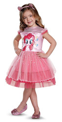 Pinkie Pie Girls Costume Movie Classic Toddler Costume 3T-4T