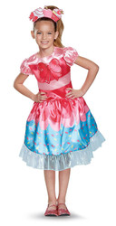 Shopkins Jessicake Classic Girls Costume Medium 7-8