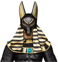 Mythical Egyptian Anubis MASK adult mens Costume accessory