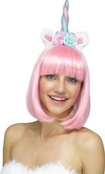 Unicorn Headband Queen Adult Halloween Costume Accessory
