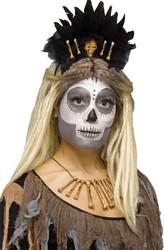Voodoo Queen Headband Adult Halloween Costume Accessory