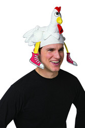 Chicket Hat Fun Run Thanksgiving Adult One Size