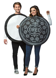 Oreo Cookie Couples Costume Officially Licensed Rasta 3714