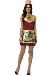 Wine Costume Dress Adult Womens Rasta 6333