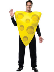 Cheese Costume Adult Packers Fan