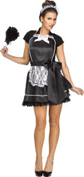 French Maid Apron and Headpiece Costume Kit