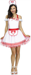 Nurse Apron and Headpiece Costume Kit