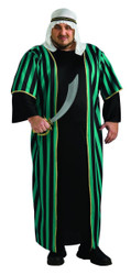 Arab Sheik mens adult Halloween Costume Plus Size