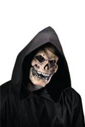 Reel F/X - Latex Bones Skull Face Grim Reaper adult Halloween costume accessory