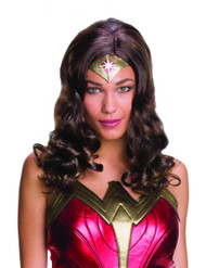 adult Wonder Woman Wig womens Halloween costume accessory