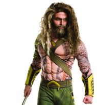 adult Aquaman Beard & Wig Batman v Superman: Dawn of Justice Halloween Costume Accessory