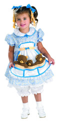 Goldilocks kids girls Halloween costume