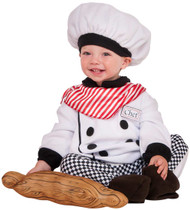 Little Chef Cook Baker kids Halloween career costume