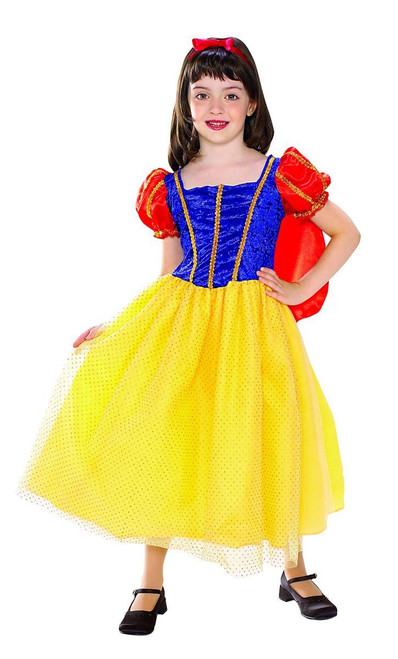 Snow White Cottage Princess kids girls Halloween costume ...