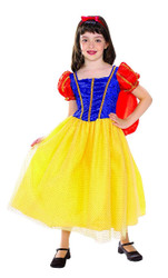 Snow White Cottage Princess kids girls Halloween costume
