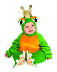 Frog Prince infant animal kids boys Halloween costume