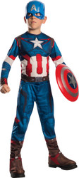Captain America Economy Avenger 2 kids boys Halloween costume