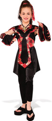 girls Dragon Ninja kids Halloween costume