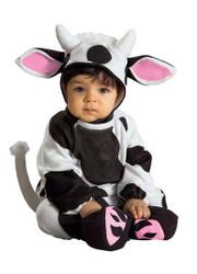 baby infant Cozy Cow kids Halloween costume