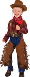 Little Wrangler cowboys  kids Halloween career costume