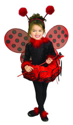 Deluxe Ladybug kids girls Halloween costume
