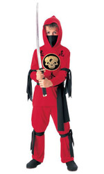 Red Ninja Child Costume