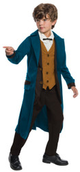 Deluxe Newt Scamander kids boys Fantastic Beasts Halloween costume