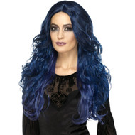 Occult Witch Siren Womens Wig Costume Accessory