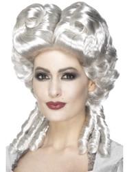 Marie Antoinette Womens Wig Curls Victorian Costume Hair